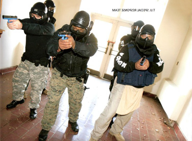 police officers training